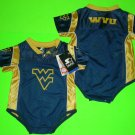West Virginia FOOTBALL Pat White JERSEY Infant BABY ONSIE 12 months, 18 months, or 24 months