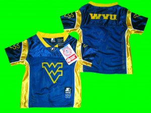 WEST VIRGINIA TODDLER FOOTBALL JERSEY 2T, 3T, or 4T  Pat White