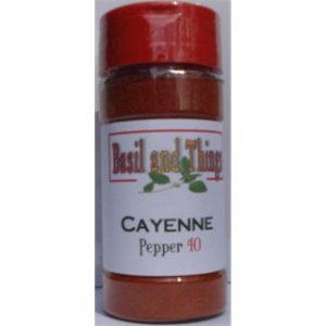 Cayenne Pepper #40