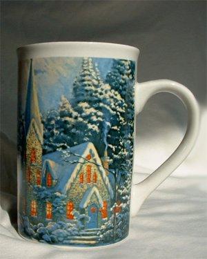 Thomas Kindade Coffee Cup