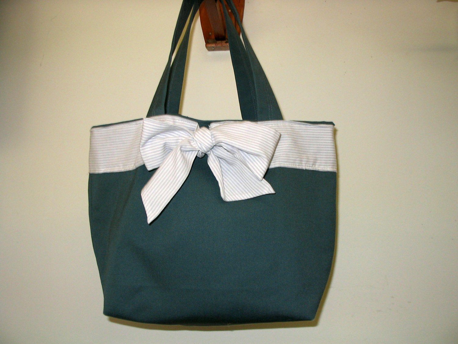 Purse  Safari Green Picnic Handmade