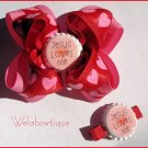 Valentine's Day Hairbow