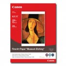 "Canon Fine Art Museum Etching Paper, 8.5"" x 11"", 20 Count"