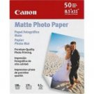 "Canon Matte Photo Paper, 8.5"" x 11"", 50 Count"