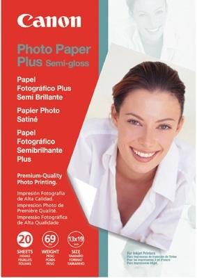 """Canon Photo Paper Plus Semi-Gloss, 13"""" x 19"""", 20 Count"""