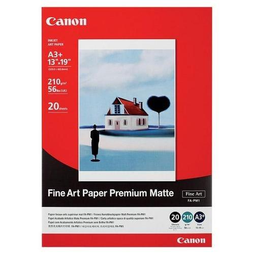 """Canon Fine Art Premium Matte Finish Paper, 13"""" x 19"""", 20 Count"""