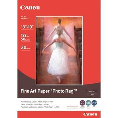 """Canon Fine Art Phpto Rag Paper, 13"""" x 19"""", 20 Count"""