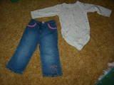 Gymboree Sweet Cupcake pants/shirt 3T