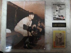Lou Gerigh Plaque
