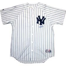 Philip Hughes Autographed Replica Home NY Yankees Jersey (Steiner / MLB)