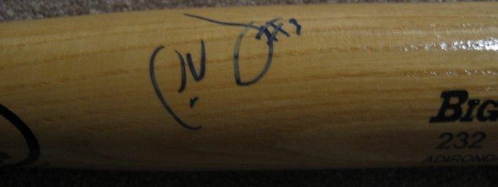 Jose Vidro Autographed Bat