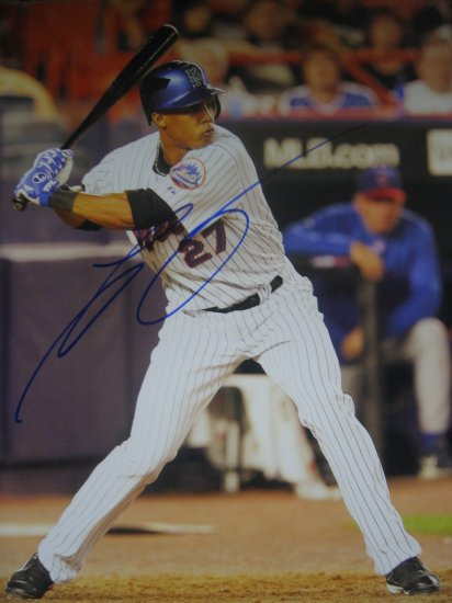 Carlos Gomez autographed 8x10 photo