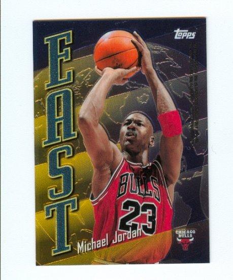 98-99 Topps Michael Jordan & Kobe Bryant East/West  #EW5