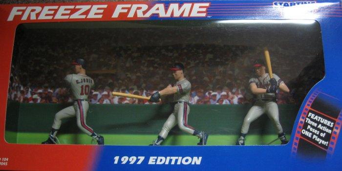 1997 Chipper Jones Starting Lineup Freeze Frame