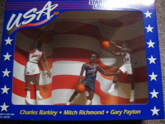 1996 USA Barkley Payton Starting Lineup Collectors Club
