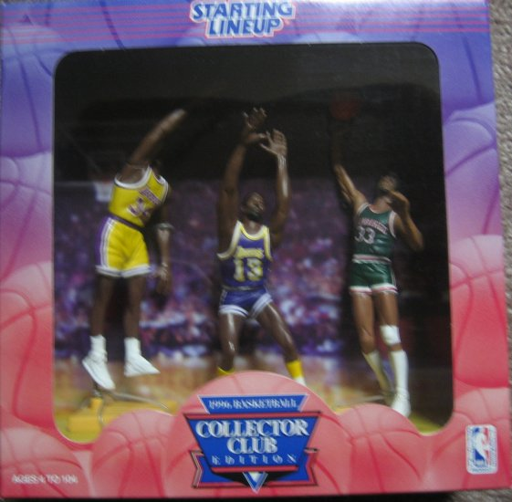 Starting Lineup 1996 Basketball Collector Club Set