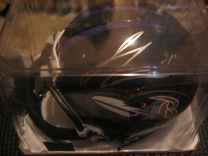 Jamal Lewis Autographed Mini Helmet