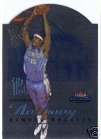 Fleer Mystique Die-Cut Carmello Anthoney Rookie Card