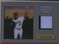 2007 Turkey Red Dontrelle Willis Game Used Jersey Card