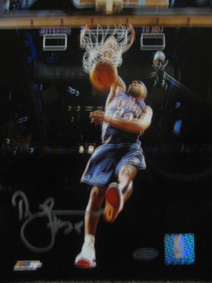 Richard Jefferson Autographed 8x10 Photo (Steiner)