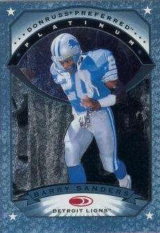 1997 Dondruss Preferred Platinum Barry Sanders