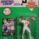 1995 Joe Montana Retirment Starting Lineup