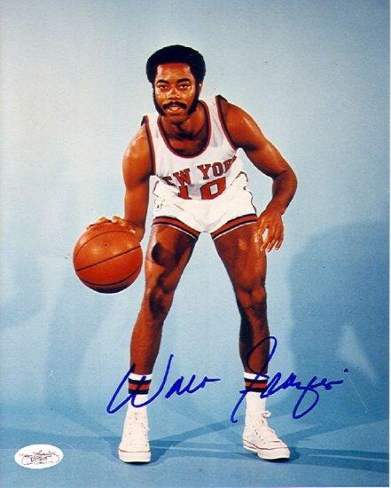 Walt Frazier Autographed 8x10 Photo (JSA)