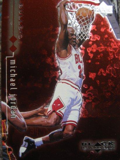 1999 Upper Deck Black Diamond  Michael Jordan # 13 Double Diamond Card
