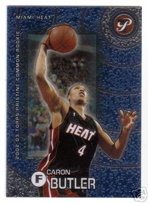 02-03 Topps Pristine Caron Butler Common Rookie Card