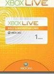 New Xbox 360 Live 1 Month Gold Subscription Card