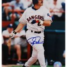 RAFAEL PALMEIRO SIGNED 8X10 PHOTO RANGERS (ASI)