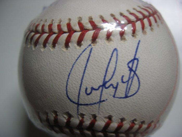 Juan Gonzalez Autograped Major League Baseball (MLB Authenticated)