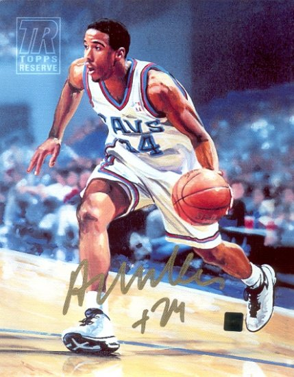 Topps Reserve Andre Miller Autographed 8x10 Canvas (Topps)