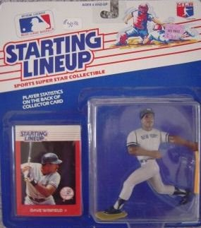 1988 Dave Winfield  Starting Lineup