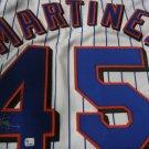 Pedro Martinez signed Mets Jersey (GAI)