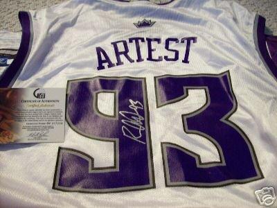 Ron Artest Signed Replica Jersey (GAI)