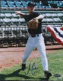 Joe Crede Signed 8x10 Photo (Just Minors)