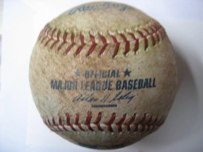 2008 Mets Final Opening Night Practice Used Baseball