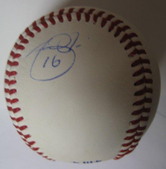 Angel Pagan Signed Trump Signature Series Baseball
