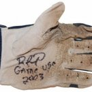 RAFAEL FURCAL SIGNED GAME USED BATTING GLOVE (ASI)