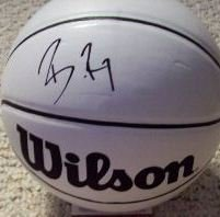 Brandon Roy Signed Mini Basketball (JSA)