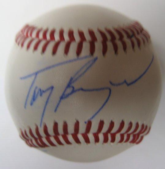 Tony Benazard Signed Trump Signature Series Baseball