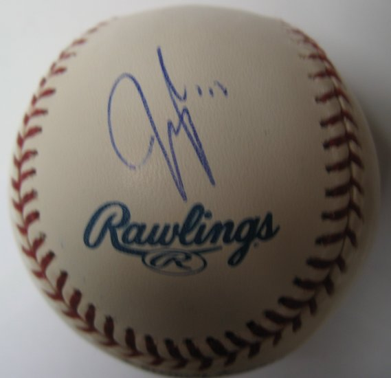Jeff Francoeur Signed Official Major League Baseball
