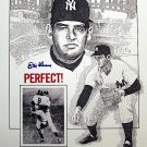 DON LARSEN SIGNED W.S. PERFECT GAME 16x20 PHOTO (PSA/DNA)