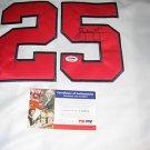 Andruw Jones Signed Atlanta Braves swingman Jersey (PSA/DNA)