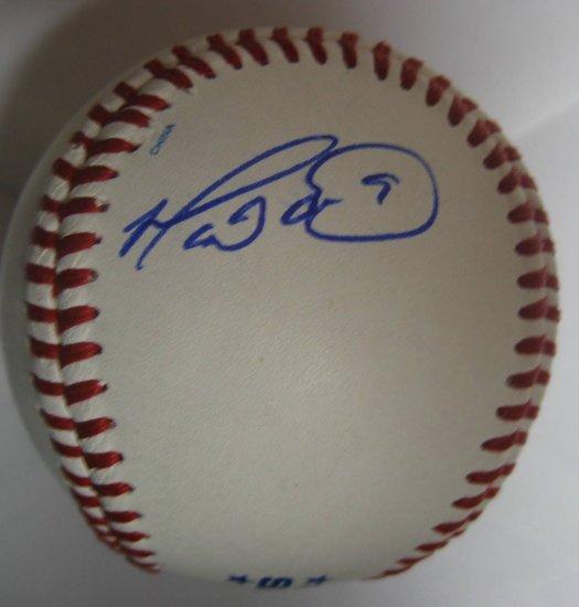 Marlon Anderson Signed Trump Signature Series Baseball