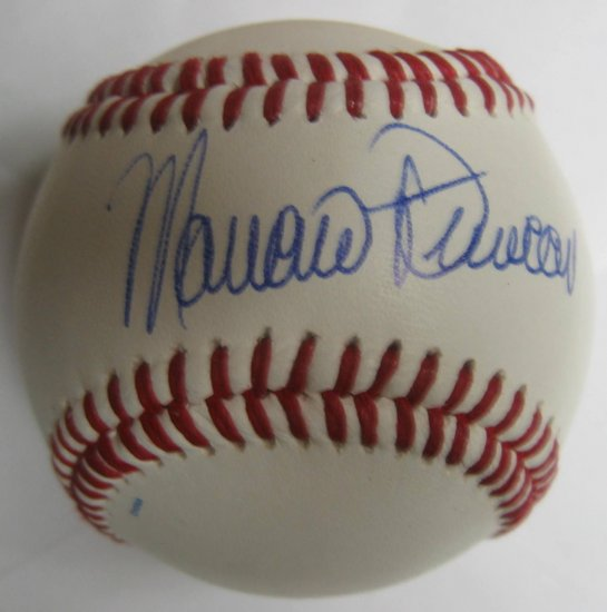 Mariano Duncan Signed Trump Signature Baseball