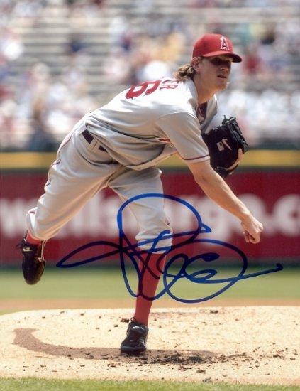 Jered Weaver Signed 8x10 Photo