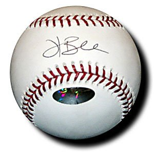 Hank Blalock Signed Official Major League Baseball (JUST Minors)