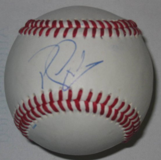 Randy Winn Signed Trump Signature Series Baseball